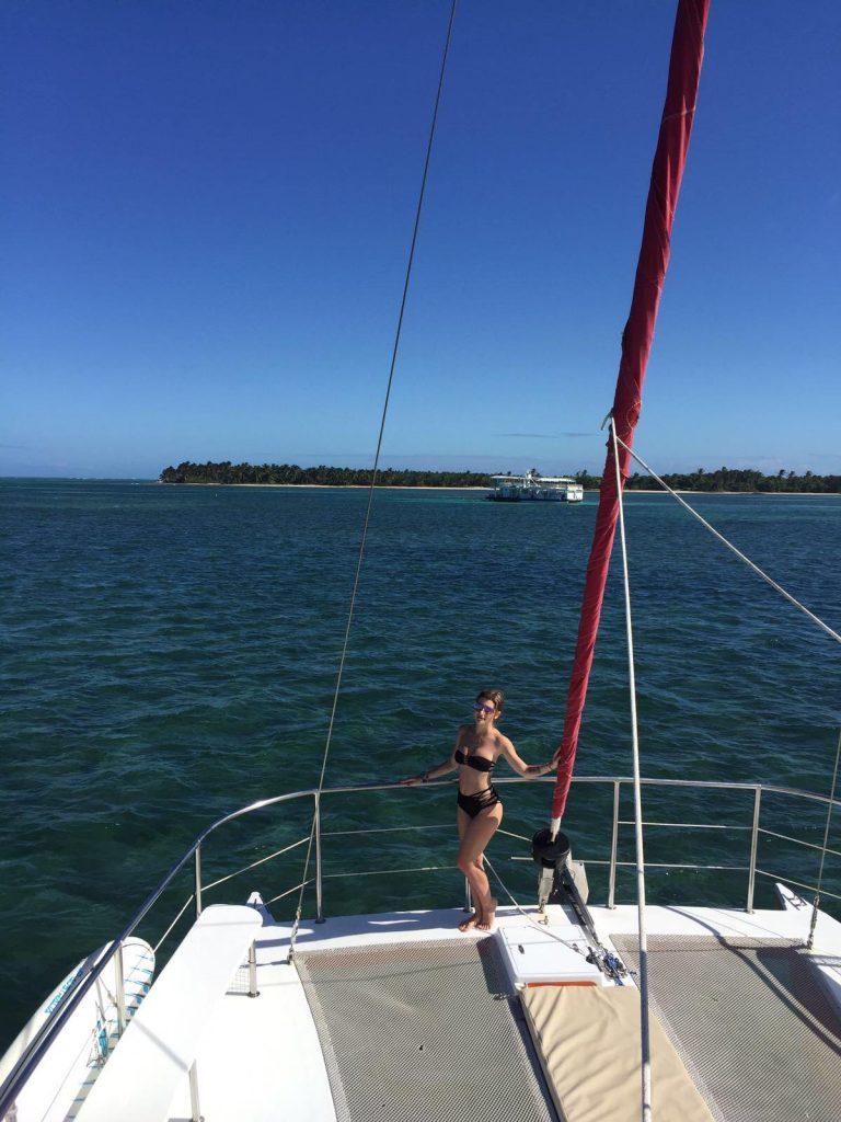 snorkeling a punta cana-sara-catamarano