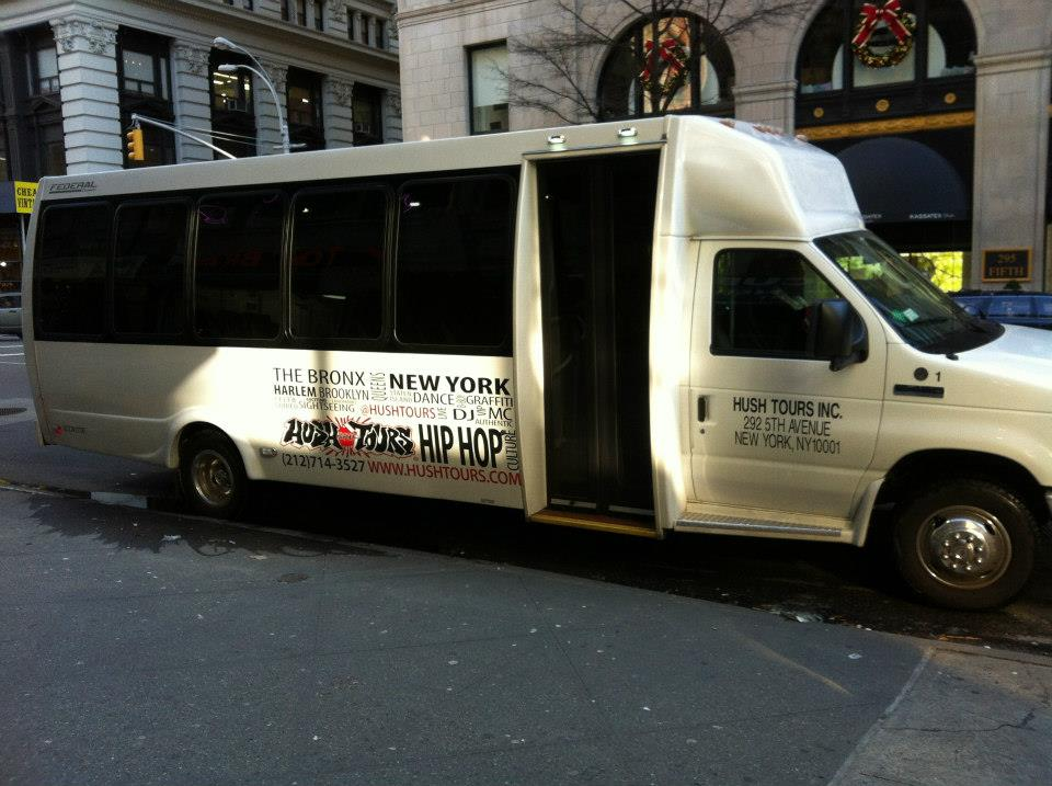 tour hip hop a new york-van-hush-tour