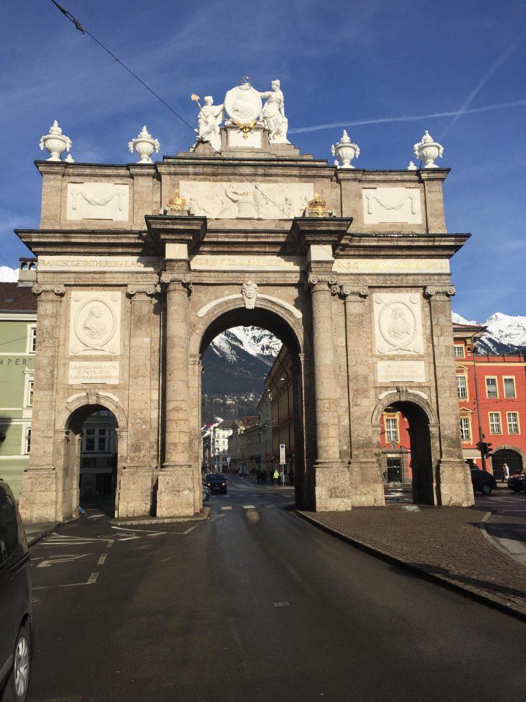 cosa fare a Innsbruck in un giorno-arco-di-trionfo