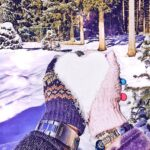 dormire in una botte di vino in Sud Tirol-neve