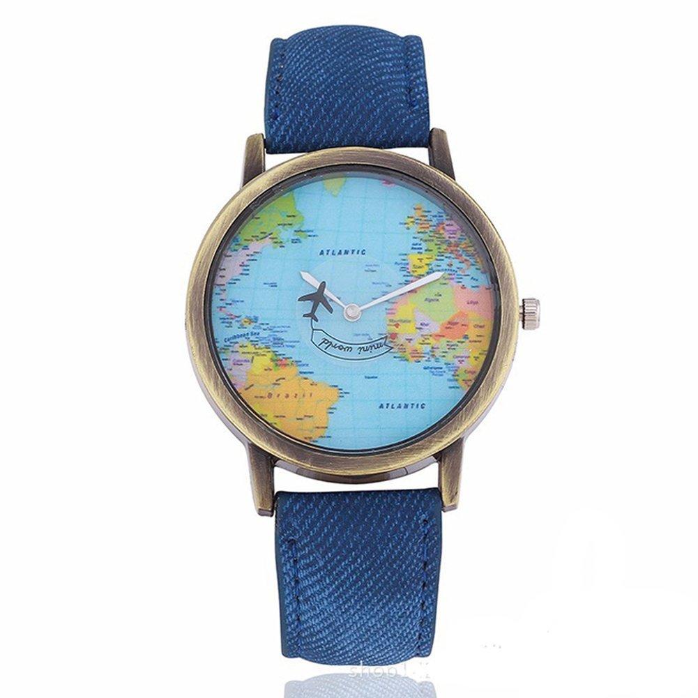 regalare a San Valentino a chi ama viaggiare-orologio-aereo