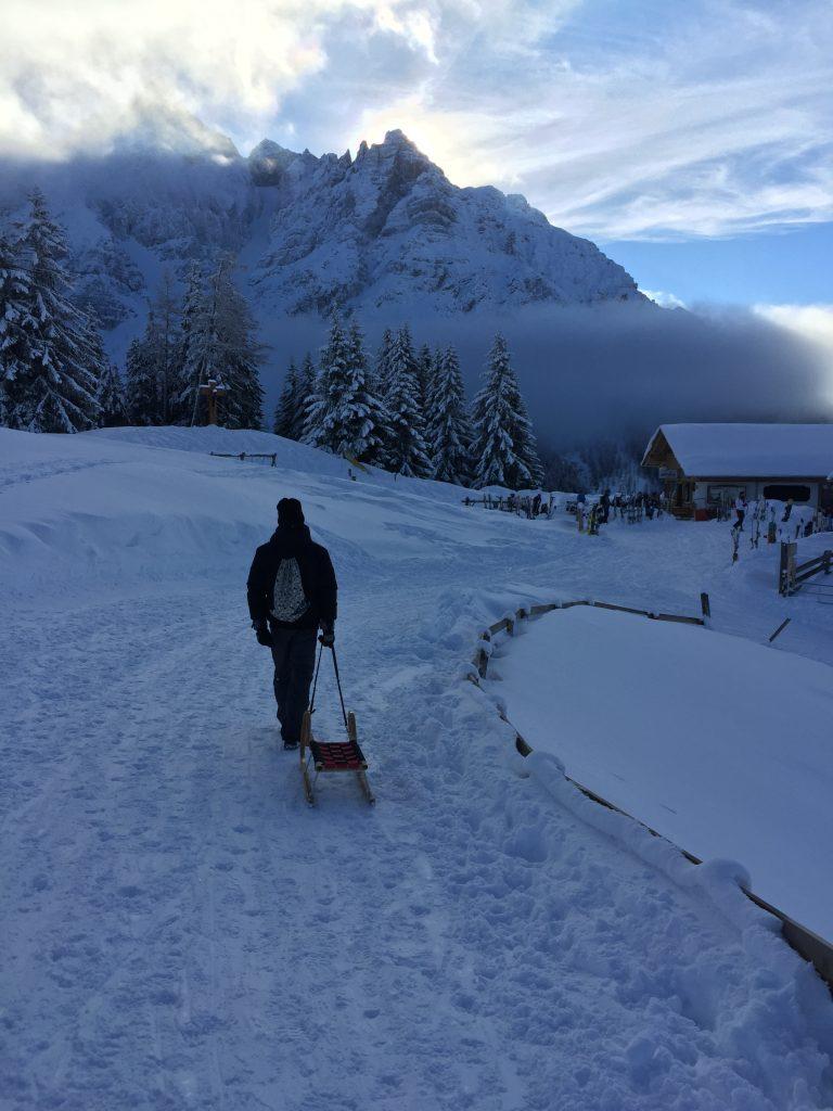le migliori piste da slittino nel Tirolo austriaco-mieders