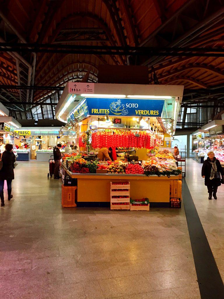 cose da fare a Barcellona quando piove-mercato-santa-caterina