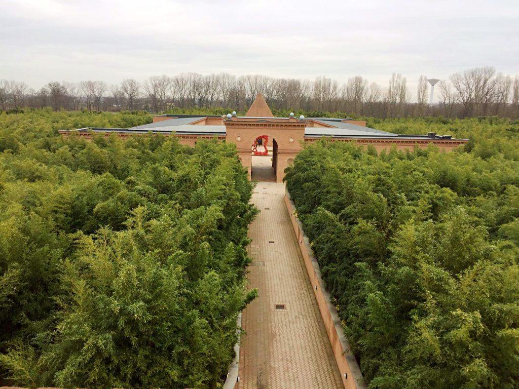 labirinto della masone-dall'alto