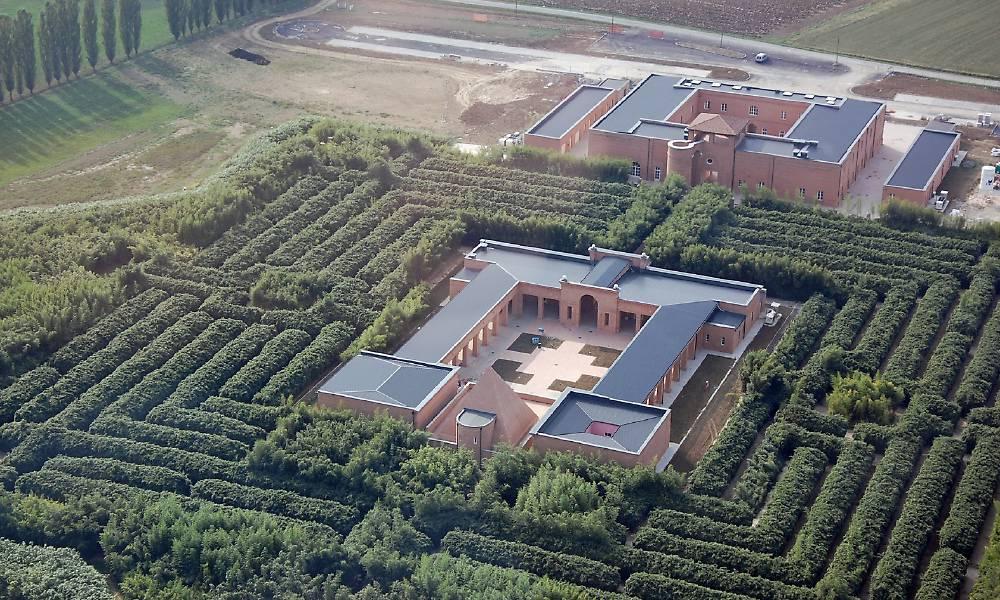 labirinto della masone-visuale-dall'alto