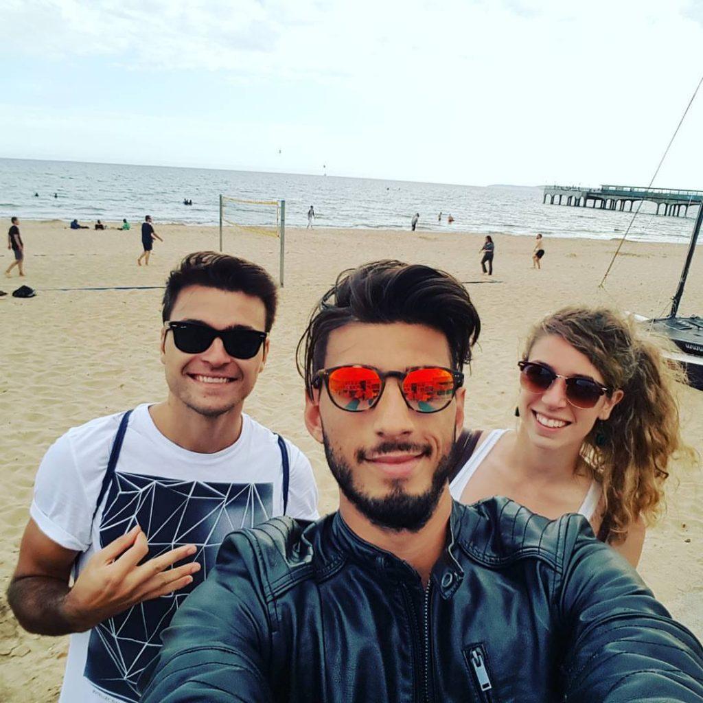 imparare l'inglese a Brighton-trio