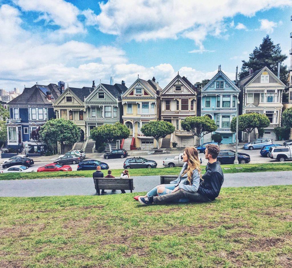 itinerario di 3 giorni a San Francisco-painted-ladies
