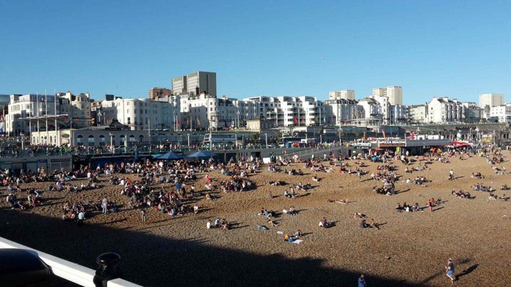 imparare l'inglese a Brighton-spiaggia