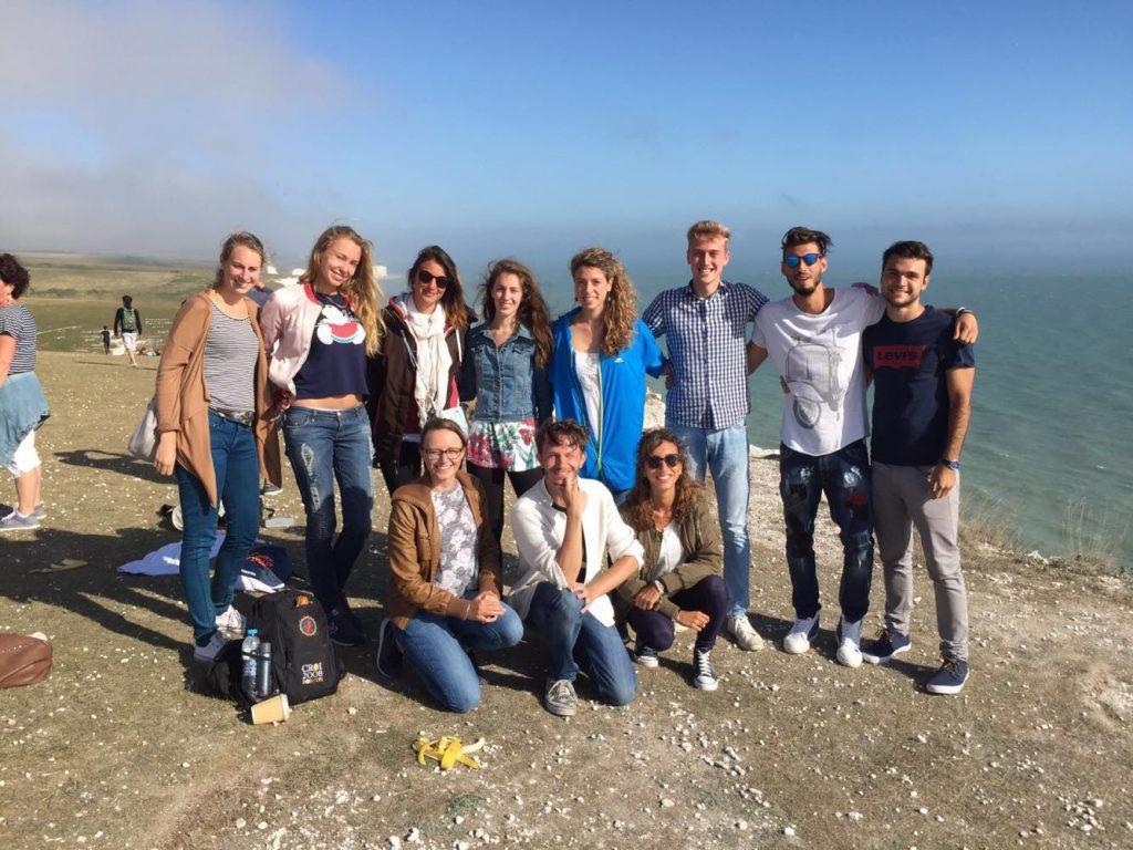 imparare l'inglese a Brighton-amici