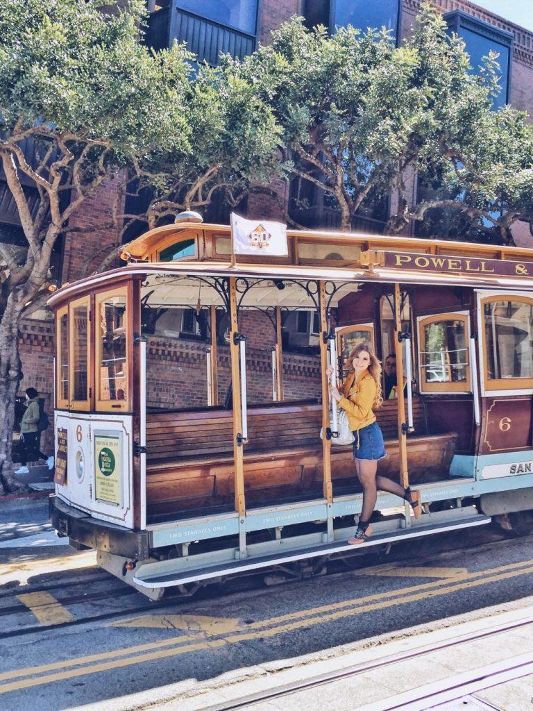 itinerario di 3 giorni a San Francisco-cable-car