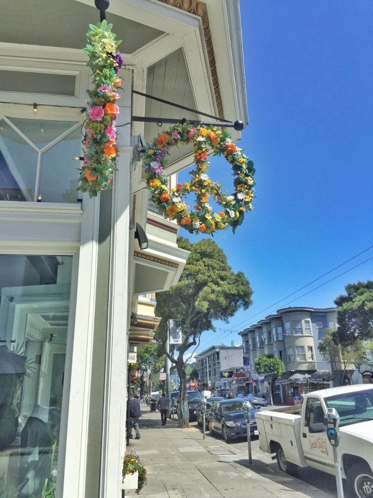 itinerario di 3 giorni a San Francisco-hippie