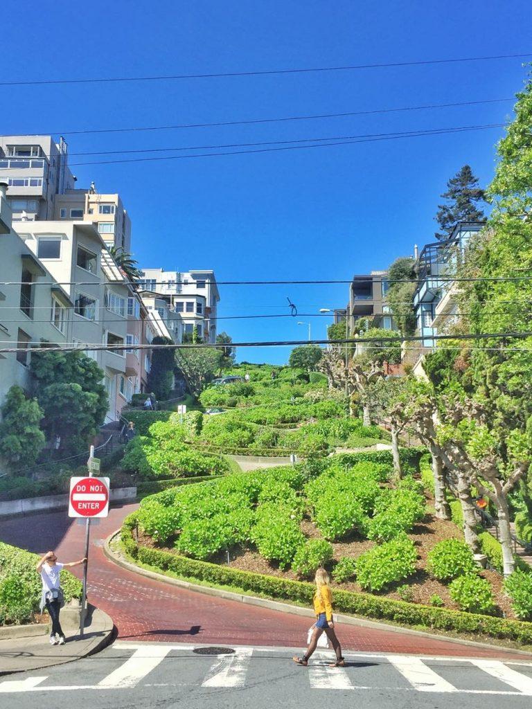 itinerario di 3 giorni a San Francisco-lombard-street