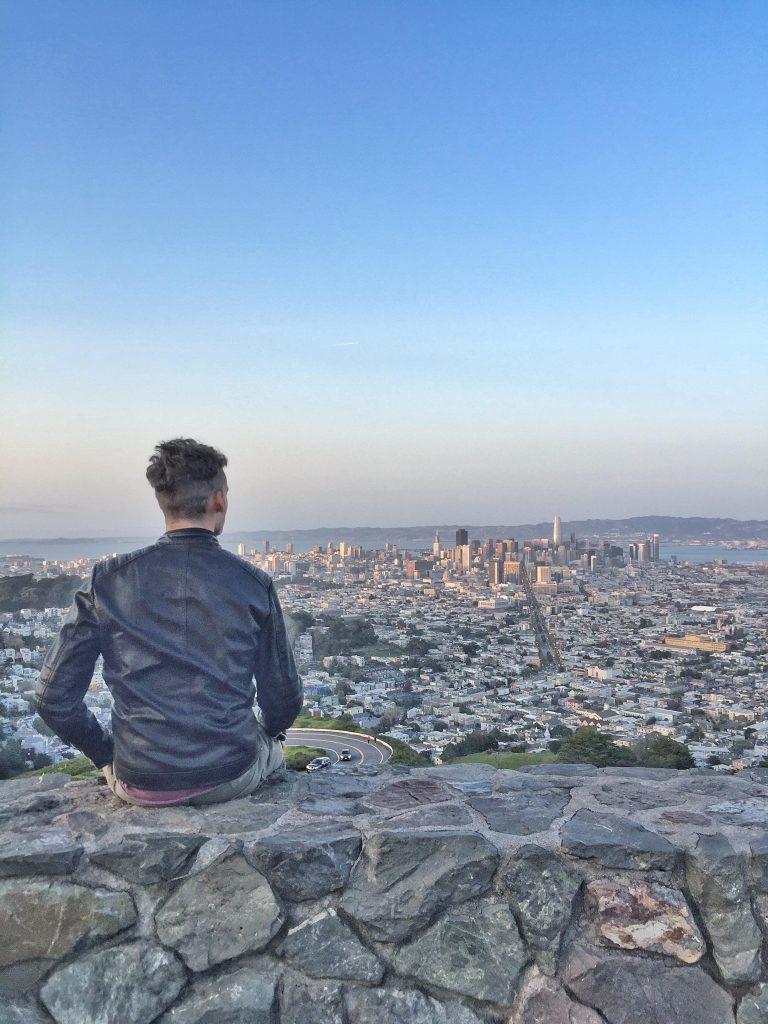 San Francisco dall'alto-twin-peaks