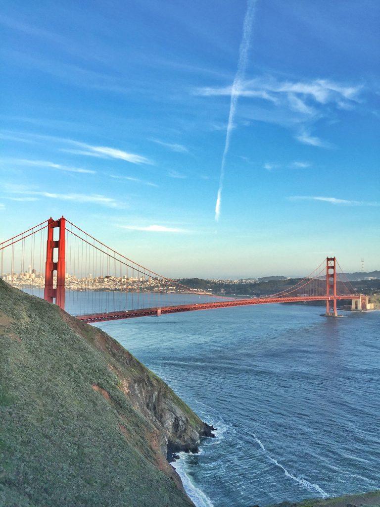 San Francisco dall'alto-marina-vista-point