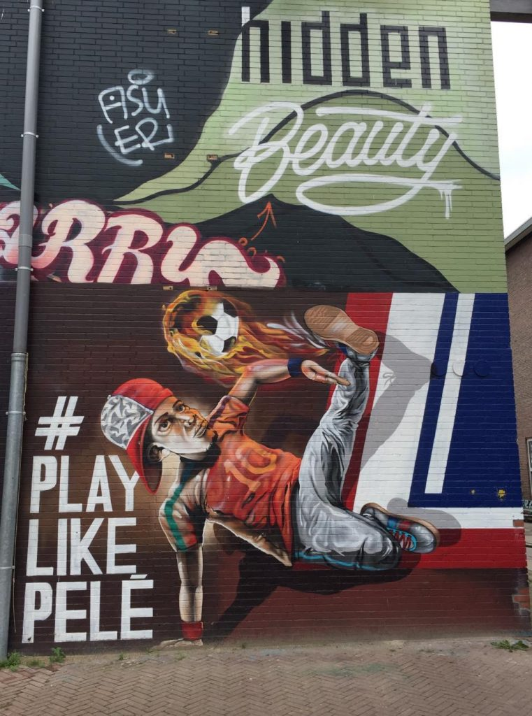 eindhoven in due giorni-graffiti