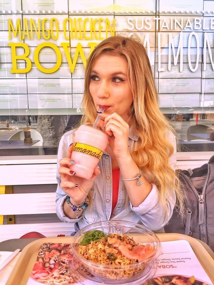 dove mangiare le açai bowls a Los Angeles-lemonade