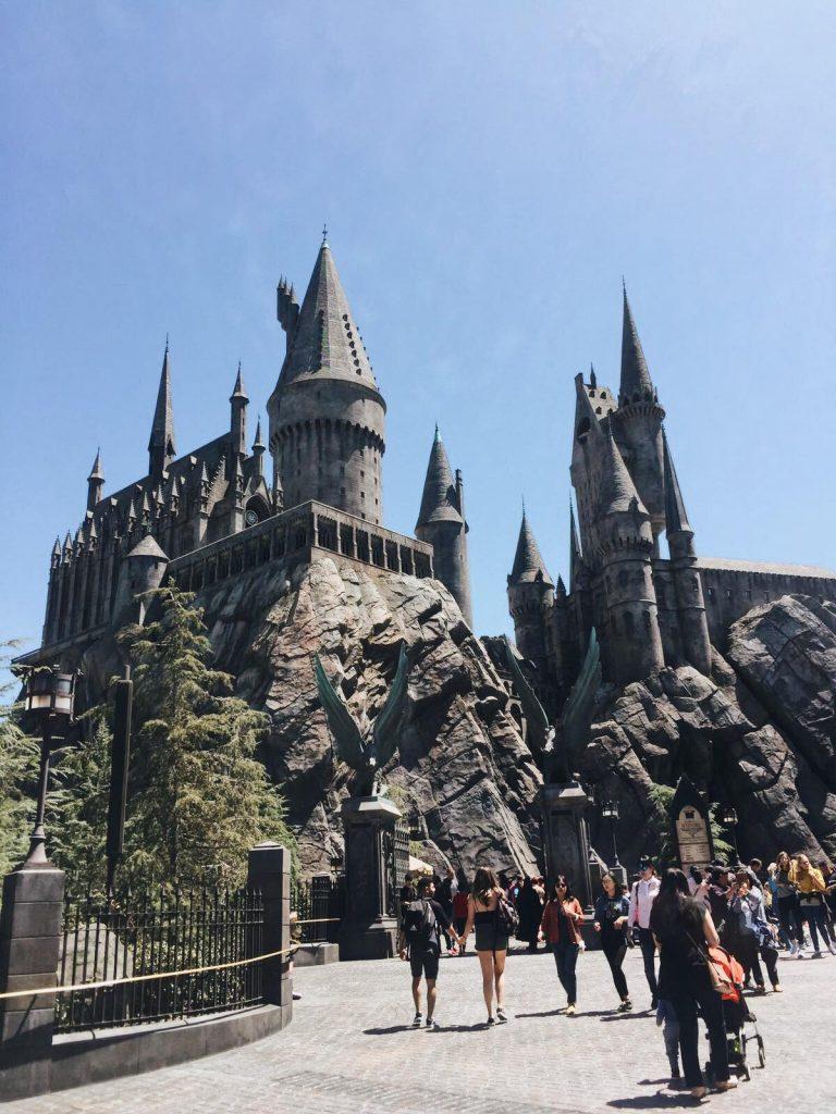 universal studios di los angeles-hogwarts