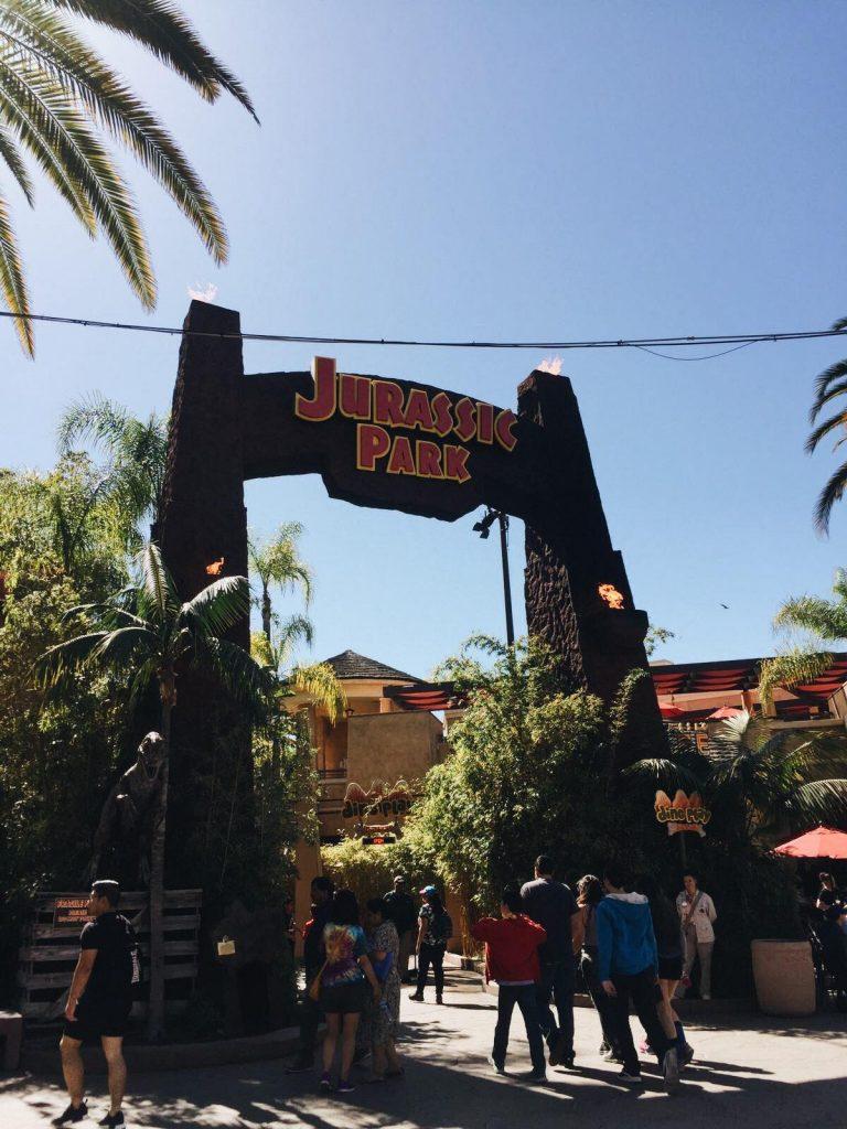 universal studios di los angeles-jurassic-park