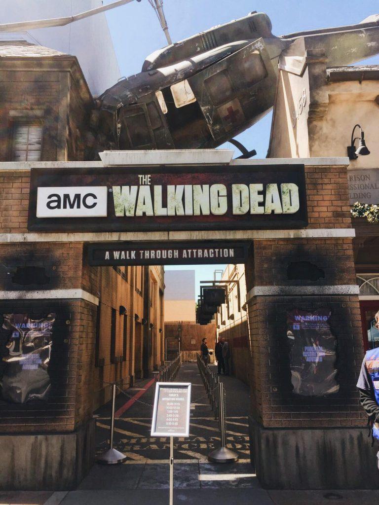 universal studios di los angeles-the-walking-dead