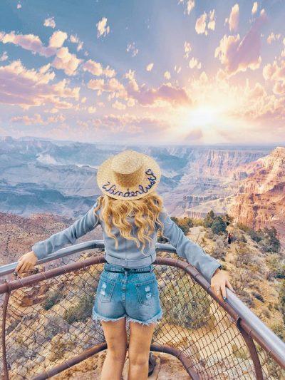 cosa portare in valigia per visitare il Grand Canyon