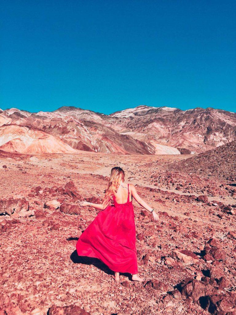 Death Valley in un giorno-sara-artist's-palette