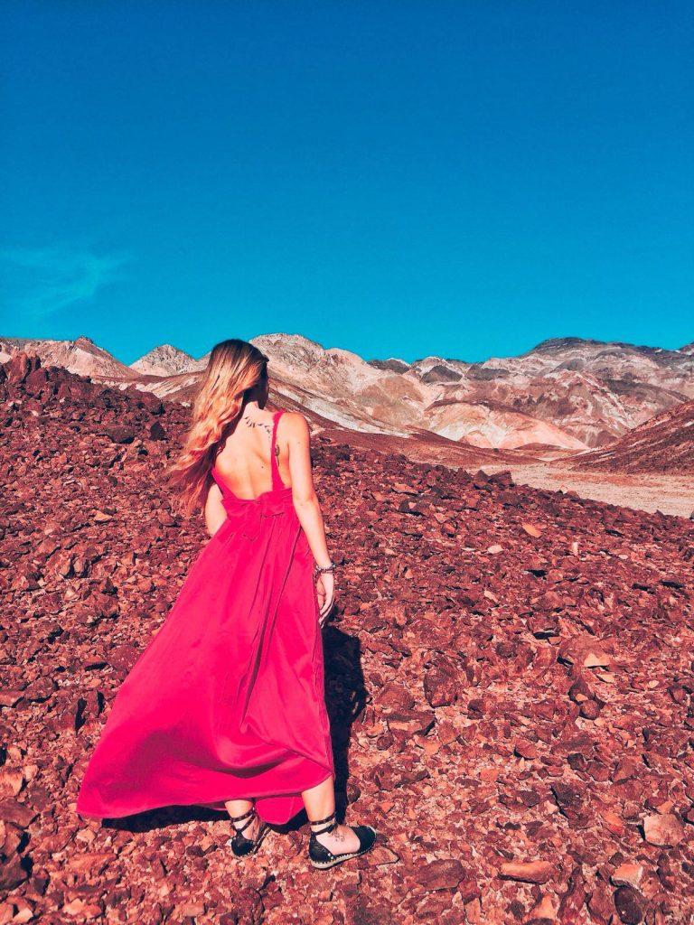 Death Valley in un giorno-sara-da-artist's-palette