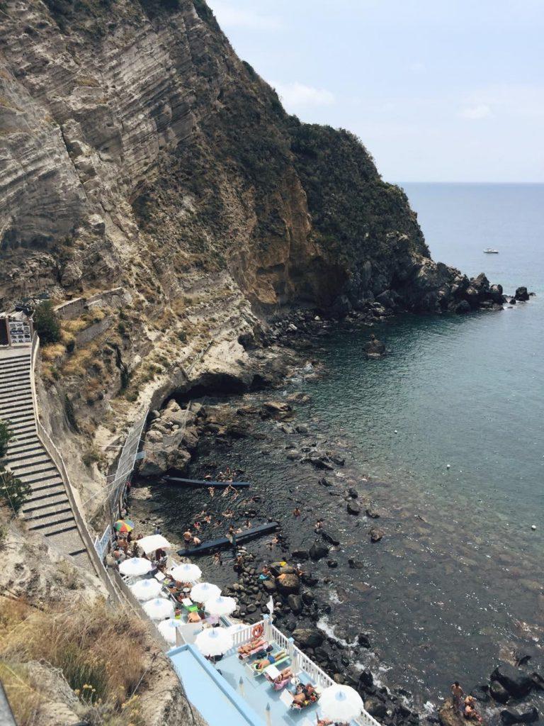 due giorni a Ischia-baia-sorgeto-alto
