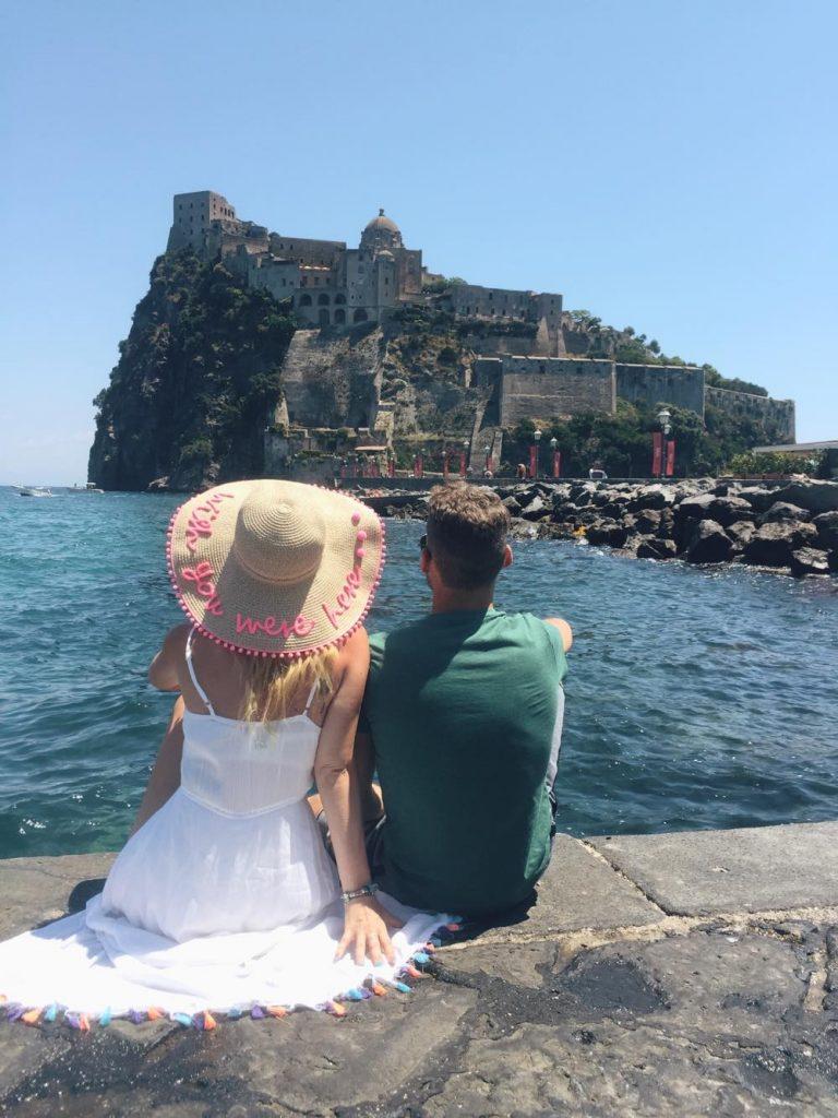 due giorni a Ischia-castello-aragonese