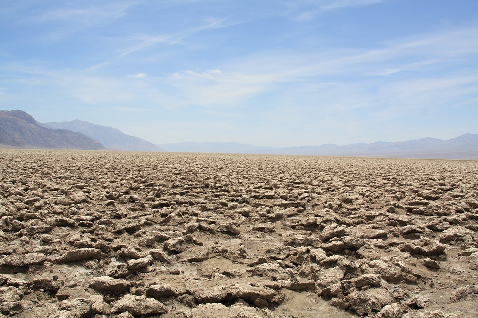 Death Valley in un giorno-devil's-golf-course