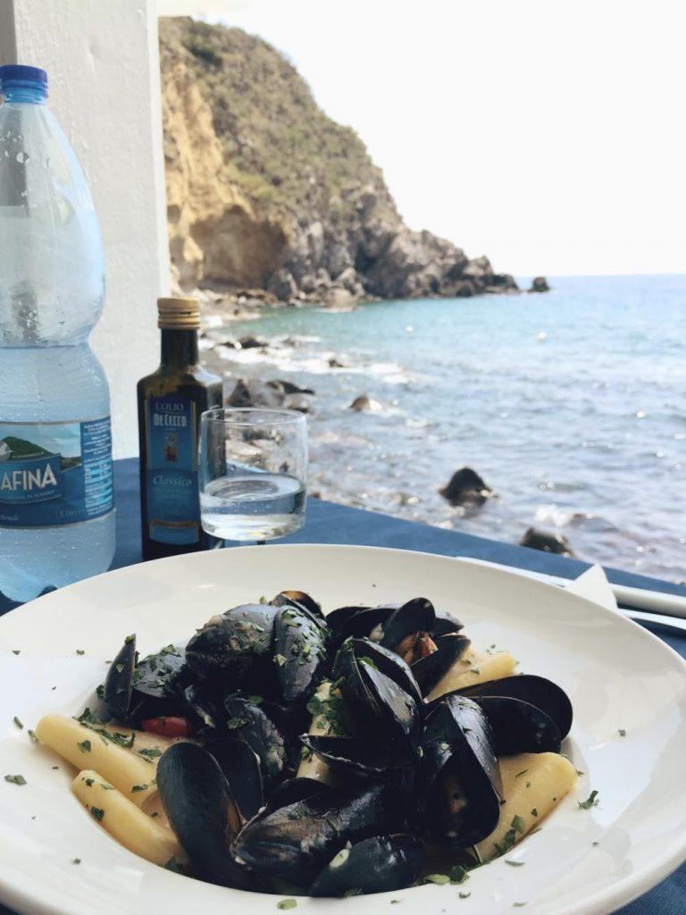 due giorni a Ischia-spaghetti-cozze-vongole