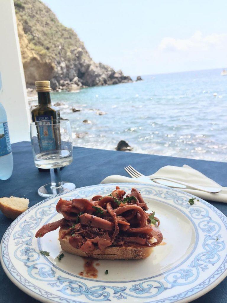 due giorni a Ischia-bruschetta-totani