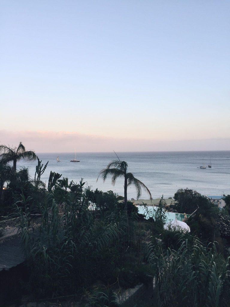 due giorni a Ischia-tramonto