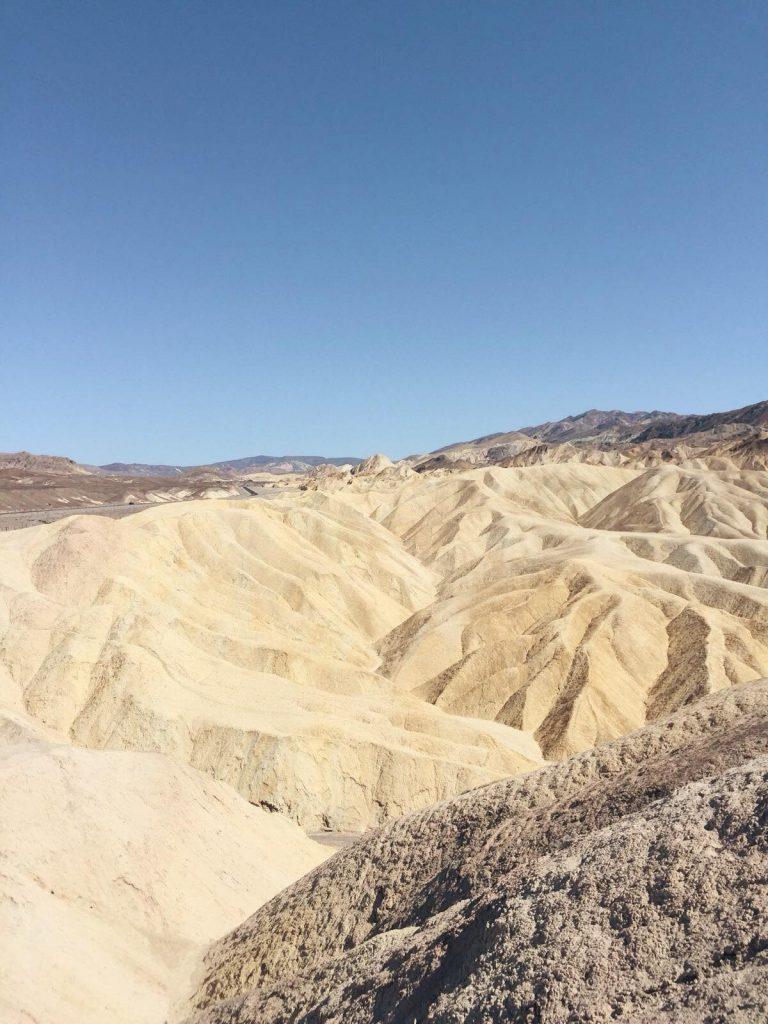 Death Valley in un giorno-zabriskie-point