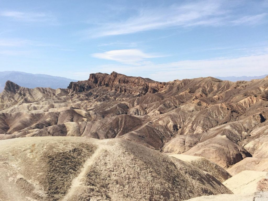 Death Valley in un giorno-zabriskie-point
