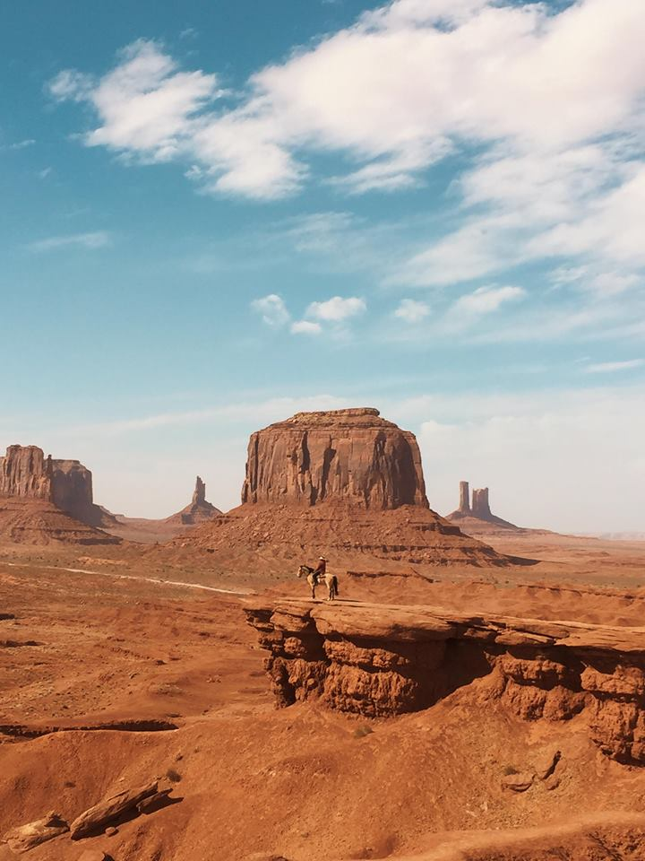 monument valley in un giorno