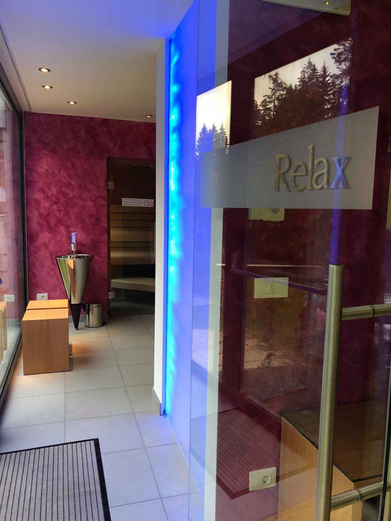 albergo vicino al lago di Carezza-relax