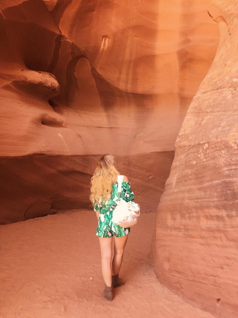 escursione ad Antelope Canyon-sara