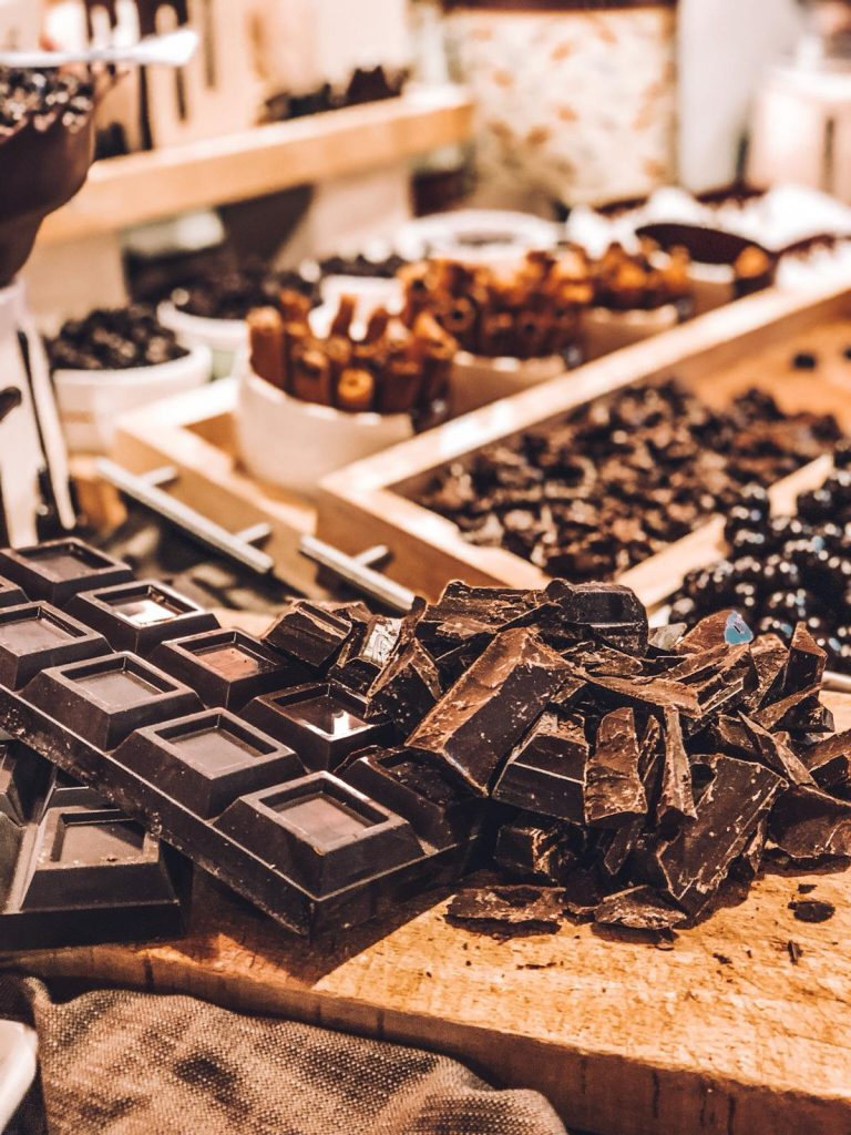 hotel a tema cioccolato-colazione