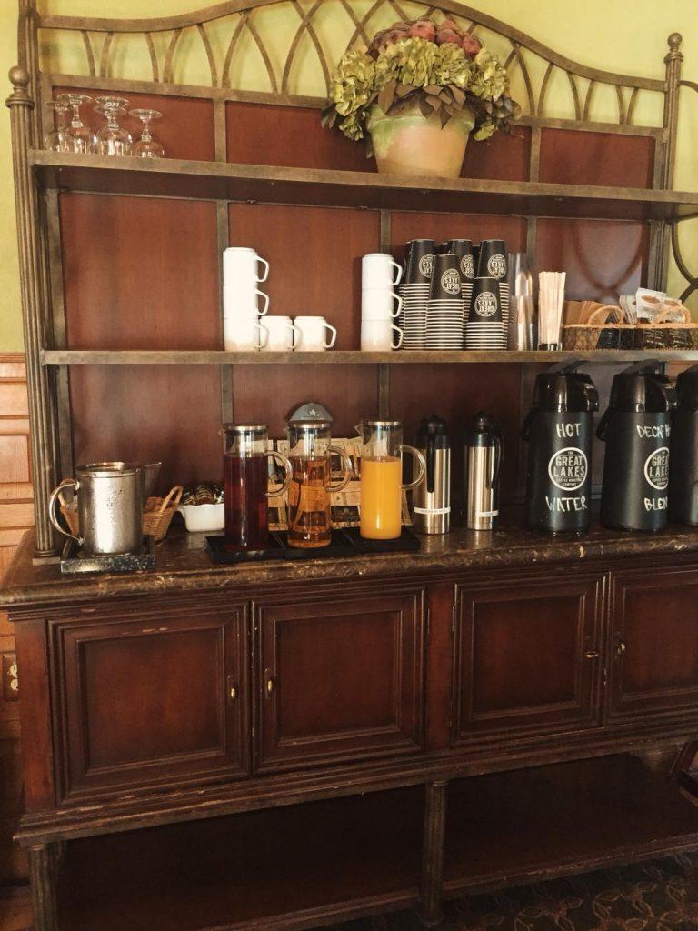 dove alloggiare a Detroit-succhi-caffè