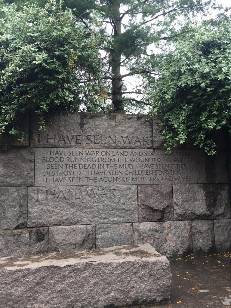 cosa vedere a washington in due giorni-roosevelt-memorial