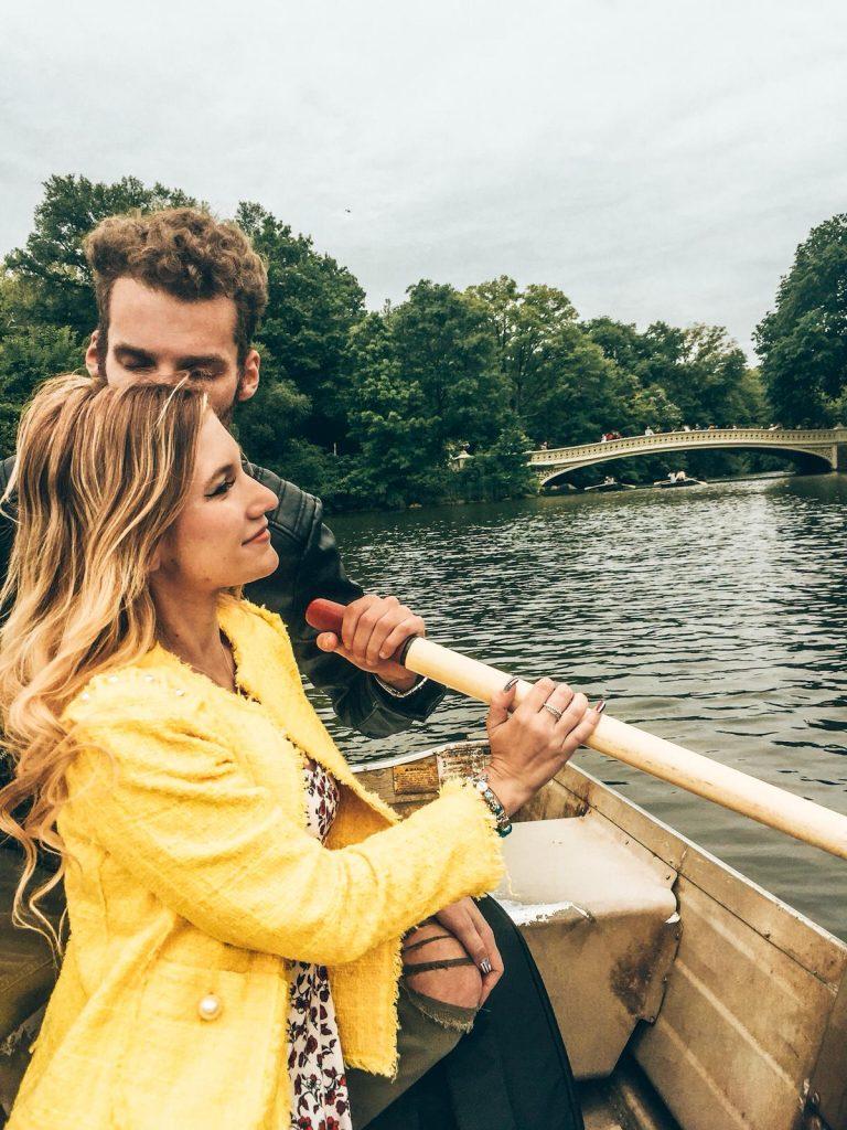 noleggiare una barca a central park-sulla-barca