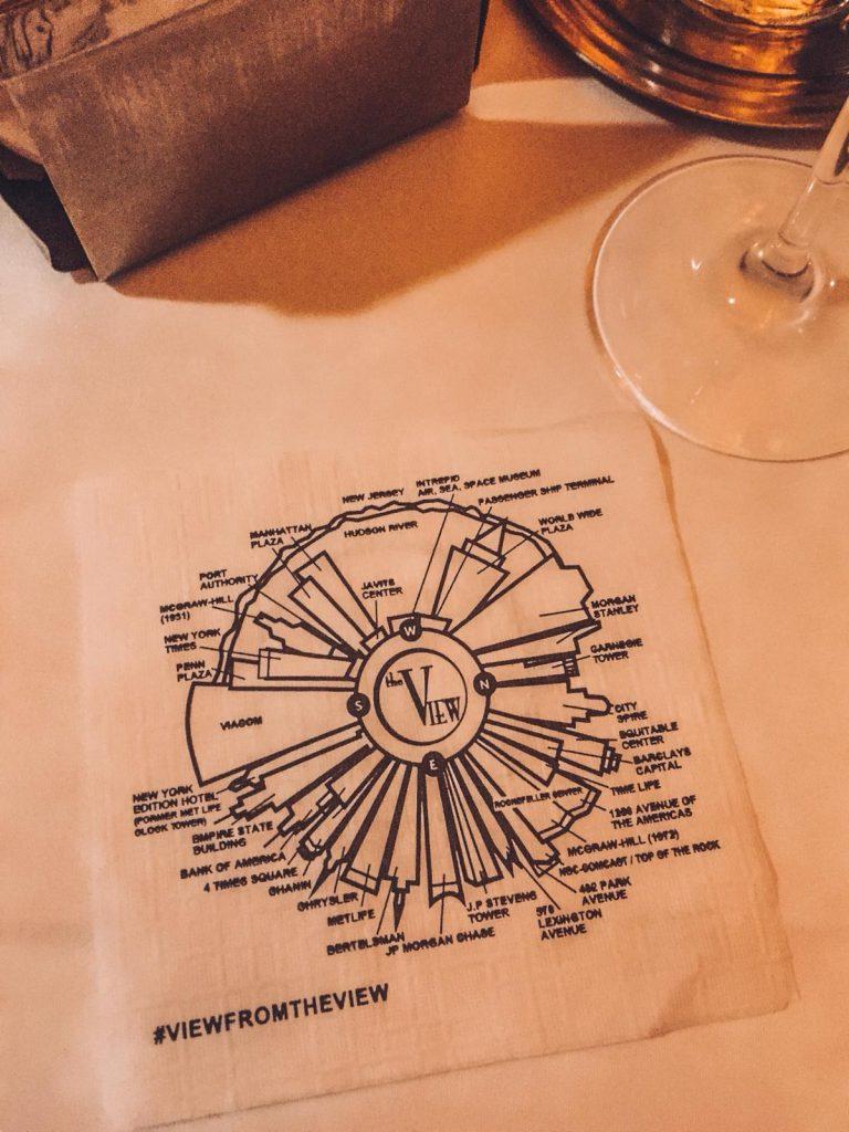 mangiare in un ristorante rotante-mappa-the-view