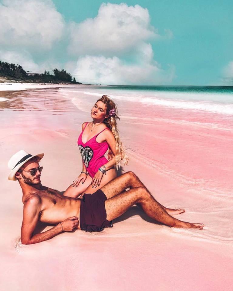 come arrivare ad Harbour Island da Eleuthera-pink-sand-beach