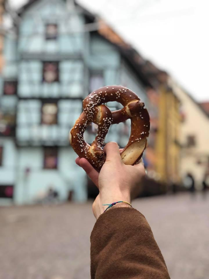 cosa mangiare in Alsazia-bretzel