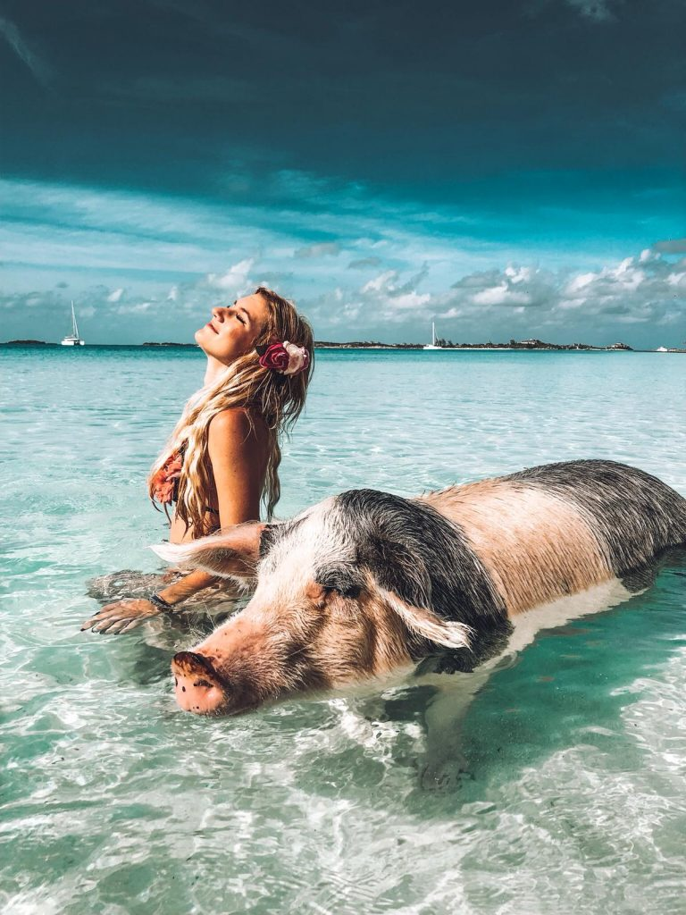 exuma in un giorno-sara-pig-beach