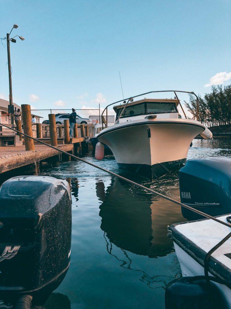come arrivare ad Harbour Island da Eleuthera-water-taxi