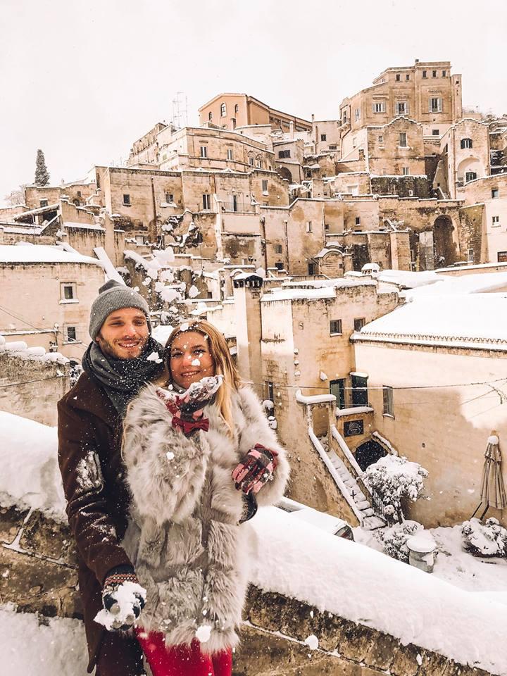 come arrivare a Matera da Bari-Matera-neve