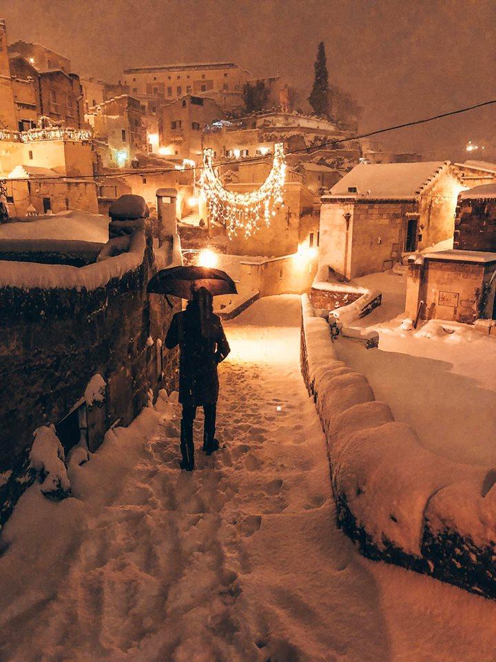 come arrivare a Matera da Bari-Matera-sera