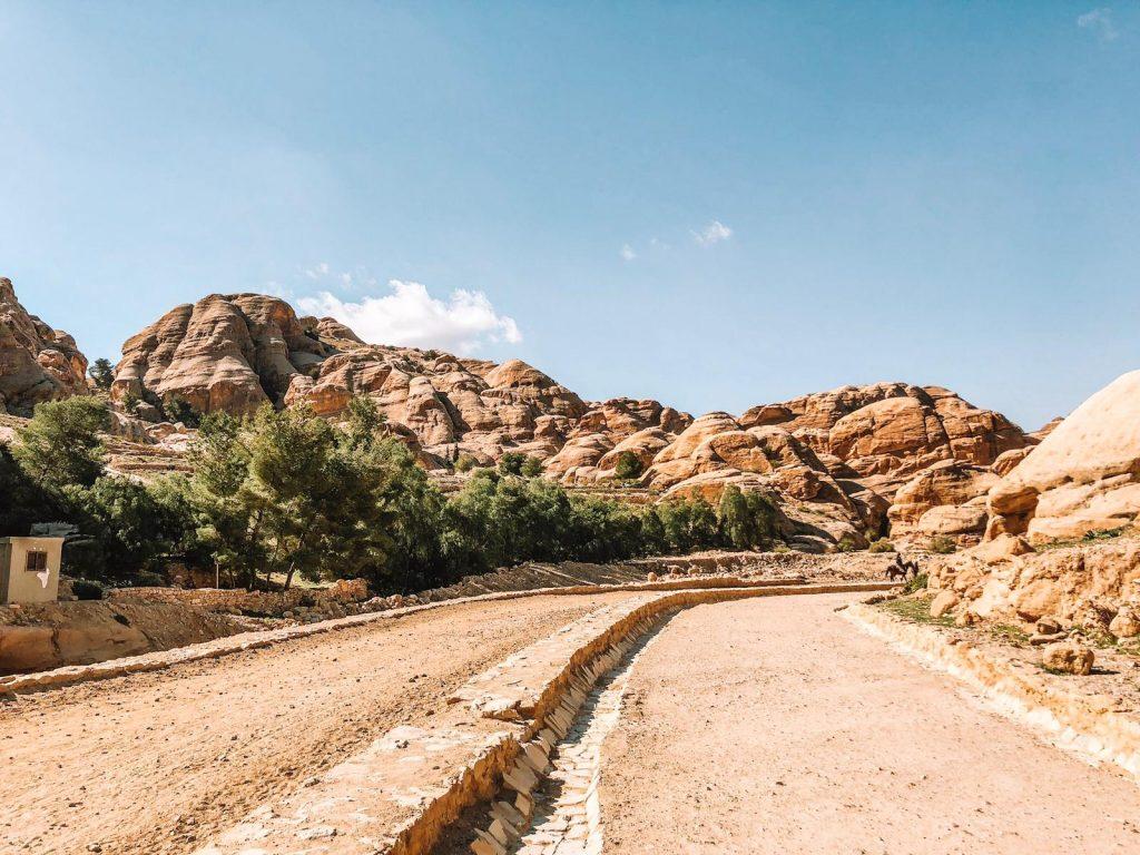 Itinerario di 2 giorni a Petra-entrata-siq