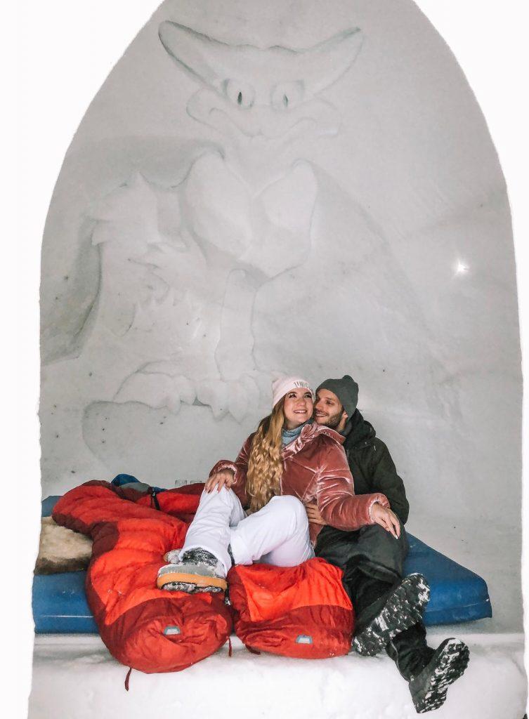 dormire in un igloo-dentro-igloo